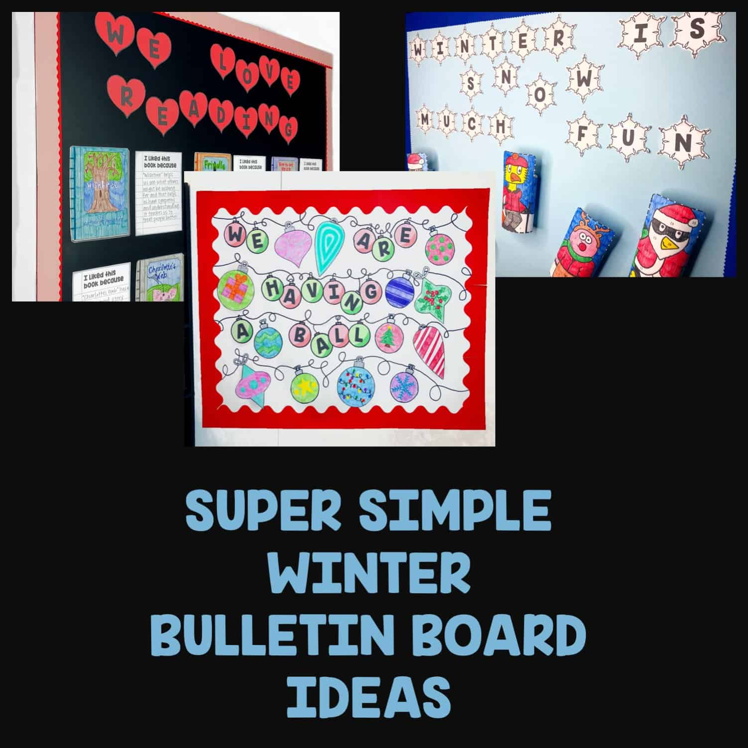 How To Keep Your Winter Bulletin Boards Simple Cook Family Resources